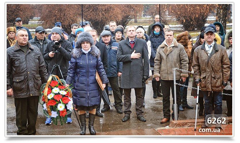 В Славянске прошёл митинг Митинг по случаю Дня чествования участников ликвидации аварии на ЧАЭС. (фото) - фото 5