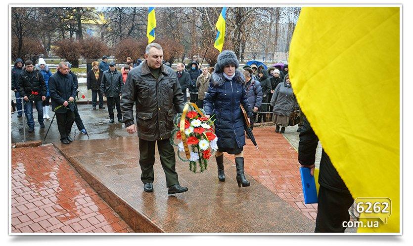 В Славянске прошёл митинг Митинг по случаю Дня чествования участников ликвидации аварии на ЧАЭС. (фото) - фото 6