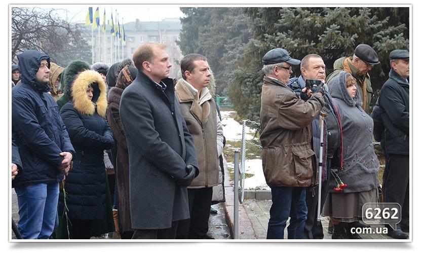 В Славянске прошёл митинг Митинг по случаю Дня чествования участников ликвидации аварии на ЧАЭС. (фото) - фото 1