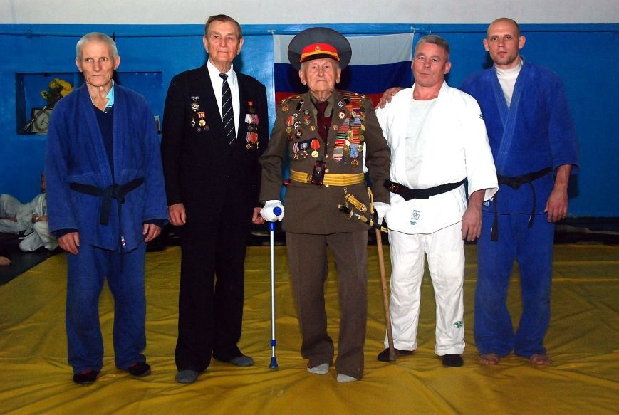 Юные дзюдоисты Ялты встретились с Чемпионом СССР и ветеранами ВОВ, фото-2