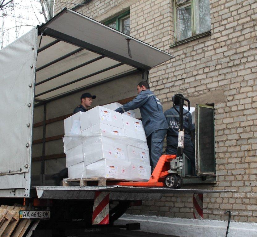 В Артемовск прибыл гуманитарный груз для многодетных семей – вынужденных переселенцев, фото-2