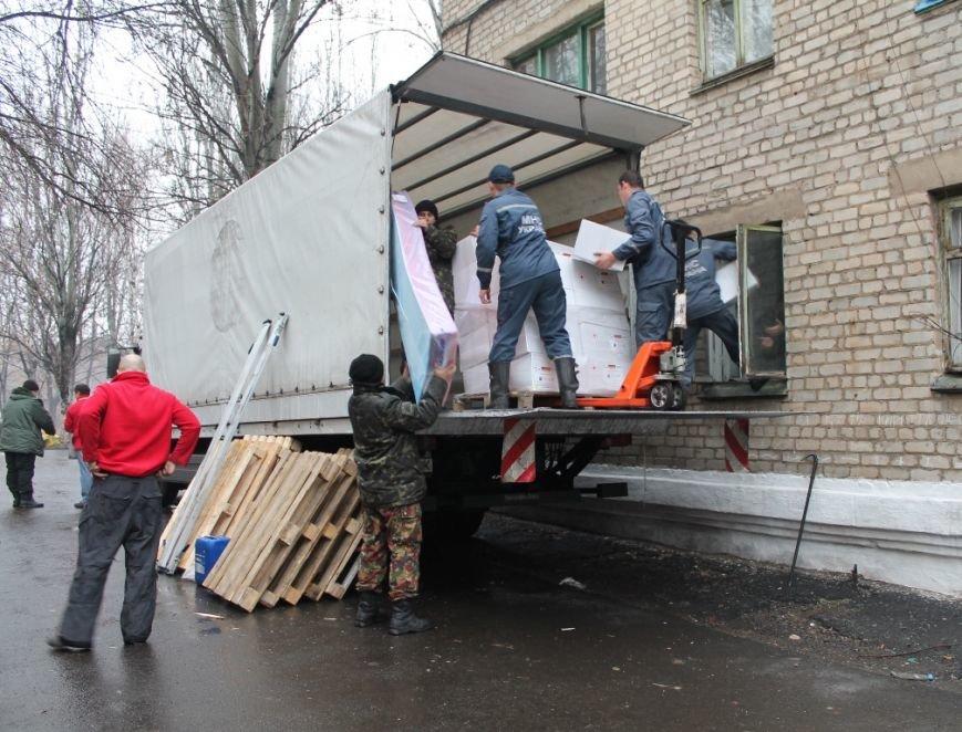 В Артемовск прибыл гуманитарный груз для многодетных семей – вынужденных переселенцев, фото-1
