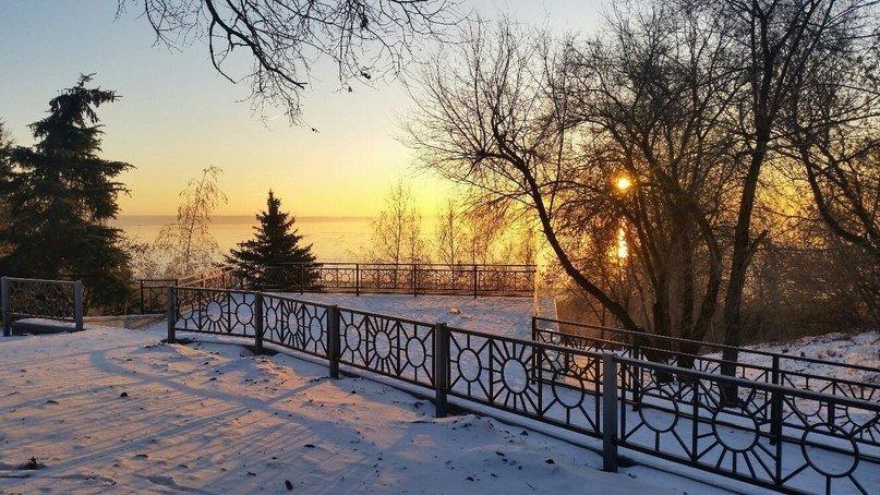 Ульяновск зимний новогодний [фото и анонс на выходные] (фото) - фото 1