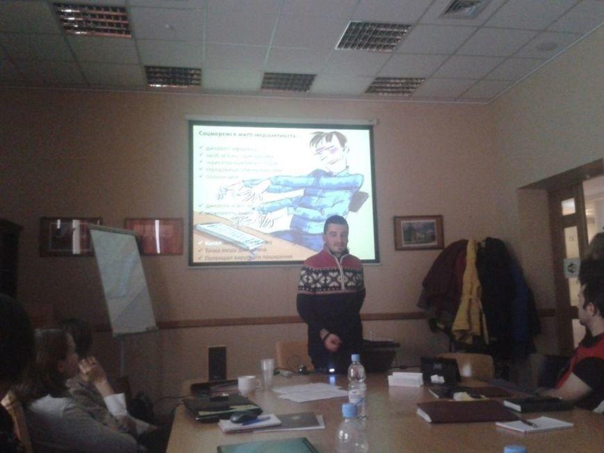 Лекція Отара Довженка