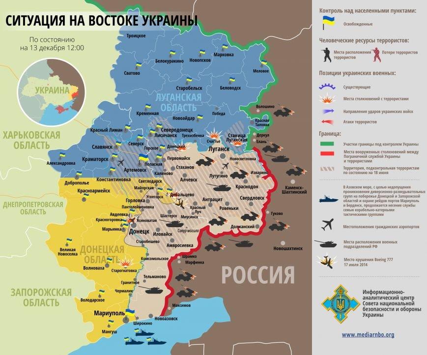 Боевики обстреляли украинских военных в Волновахском районе (КАРТА), фото-1
