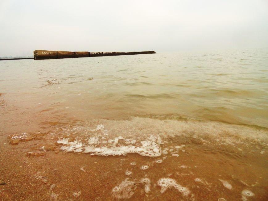 В Мариуполе на побережье ледоход (ФОТОФАКТ) (фото) - фото 3