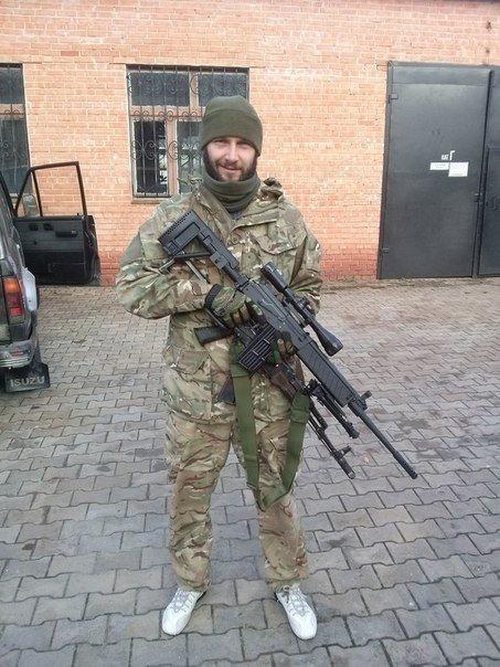 Бойцу «Азова», раненному под Мариуполем, спасли зрение в Днепропетровске (фото) - фото 1