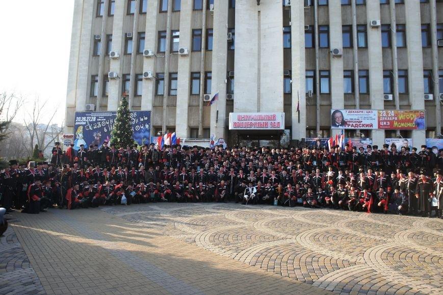 Белореченские казаки заслушали отчет Николая Долуды в Краснодаре (фото) - фото 1