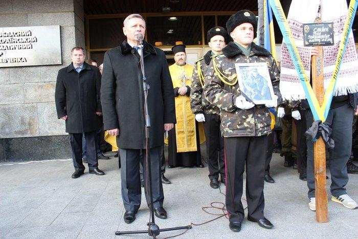 В Луцке простились с бойцом «Азова», погибшим под Мариуполем (ФОТО), фото-6