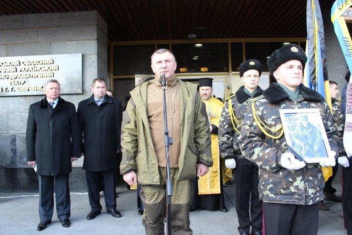 В Луцке простились с бойцом «Азова», погибшим под Мариуполем (ФОТО), фото-10