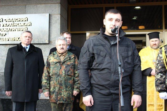 В Луцке простились с бойцом «Азова», погибшим под Мариуполем (ФОТО), фото-11