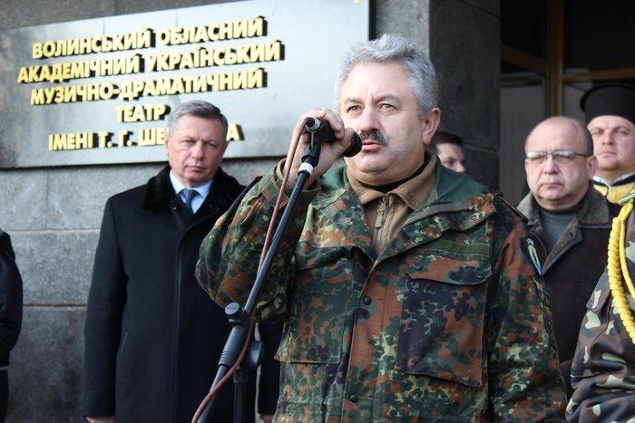 В Луцке простились с бойцом «Азова», погибшим под Мариуполем (ФОТО), фото-12