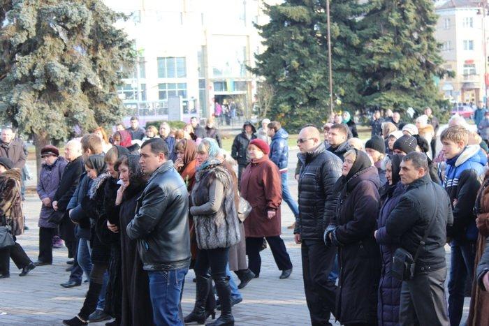 В Луцке простились с бойцом «Азова», погибшим под Мариуполем (ФОТО), фото-5