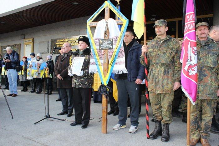 В Луцке простились с бойцом «Азова», погибшим под Мариуполем (ФОТО), фото-7
