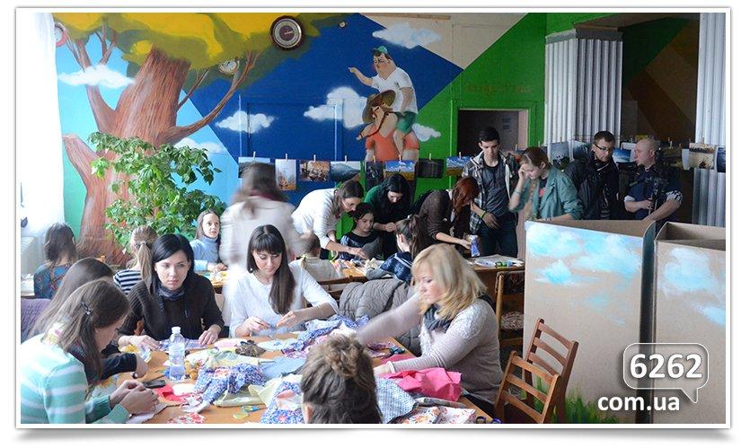 Праздник искусства в Славянской школе искусств. Art-мобилизация. (фото) - фото 6