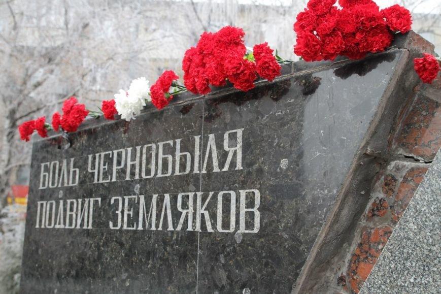 В Макеевке почтили память земляков-«чернобыльцев» (фото) - фото 2