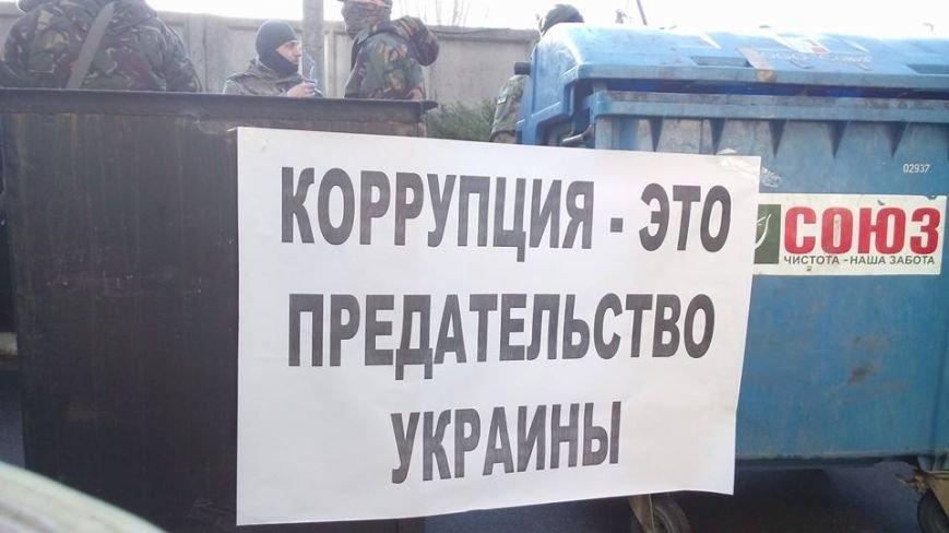 Активисты Евромайдана на броневике штурмуют фитосанитарную инспекцию Одесской области (ФОТО), фото-3
