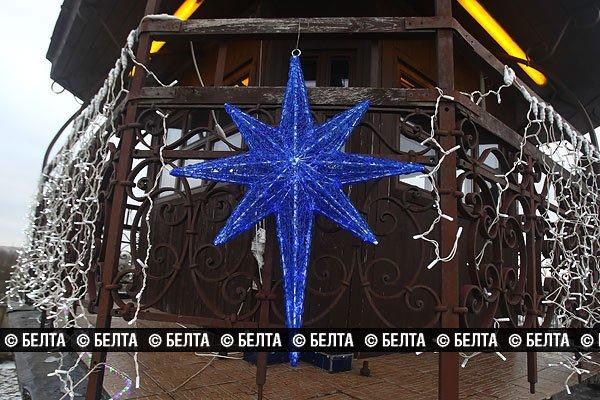 Гродненскую пожарную каланчу превратят в новогоднюю елку (Фото), фото-1