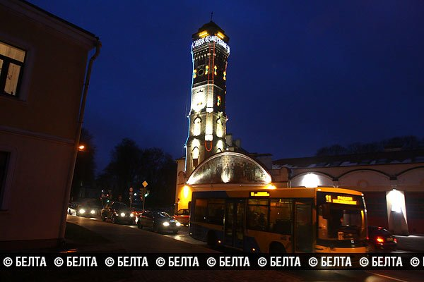 Гродненскую пожарную каланчу превратят в новогоднюю елку (Фото), фото-4