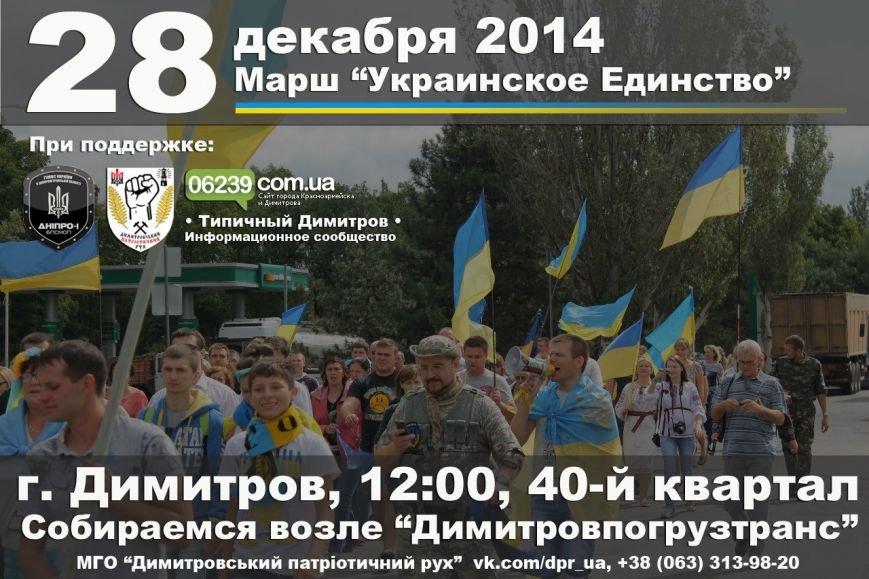 В Димитрове состоится Марш «Украинское Единство»: патриоты хотят лишить Януковича звания «Почетный гражданин» (фото) - фото 1
