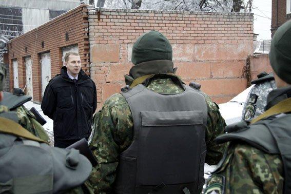 В Авдеевку направлен новый сводный отряд управления милиции Донецкой области (фото) - фото 1