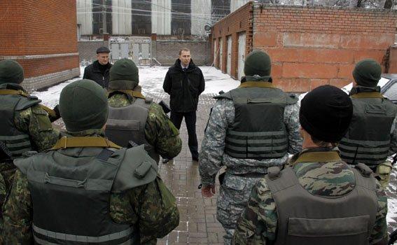 В Авдеевку направлен новый сводный отряд управления милиции Донецкой области (фото) - фото 2