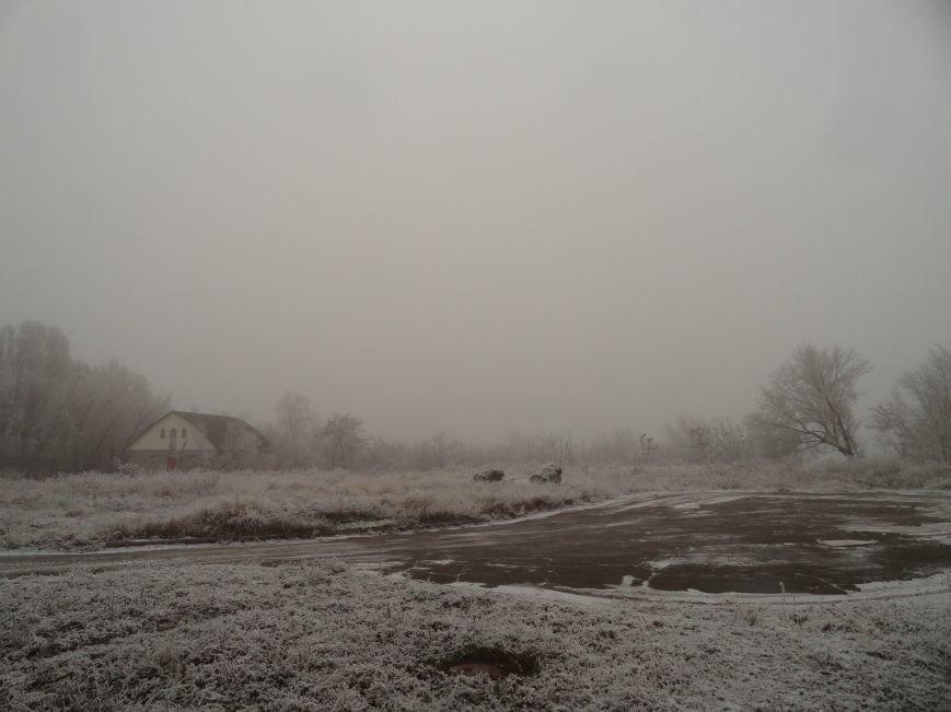 Мариуполь попал в плен тумана (ФОТОФАКТ) (фото) - фото 1