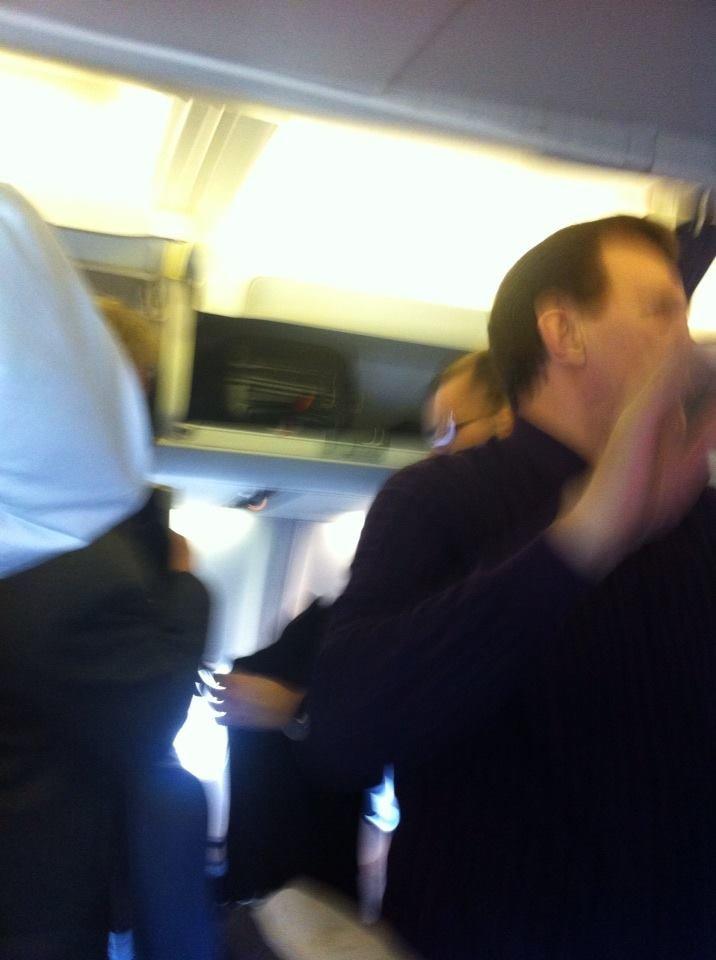 киви в самолете