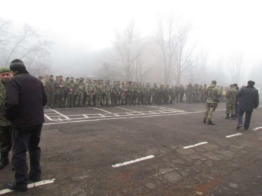 В Мариуполе попрощались с ивано-франковскими и львовскими милиционерами (ФОТО), фото-1