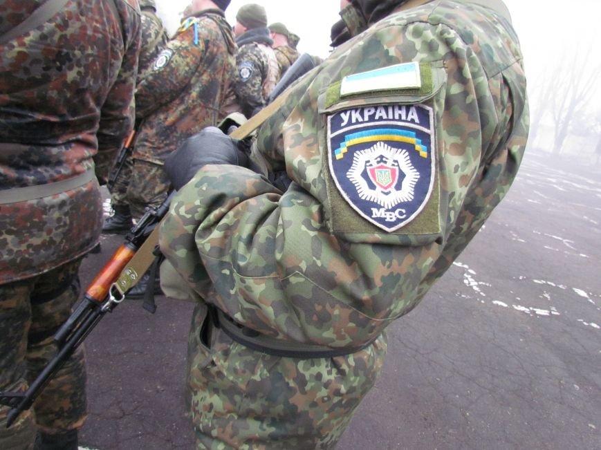 В Мариуполе попрощались с ивано-франковскими и львовскими милиционерами (ФОТО), фото-11