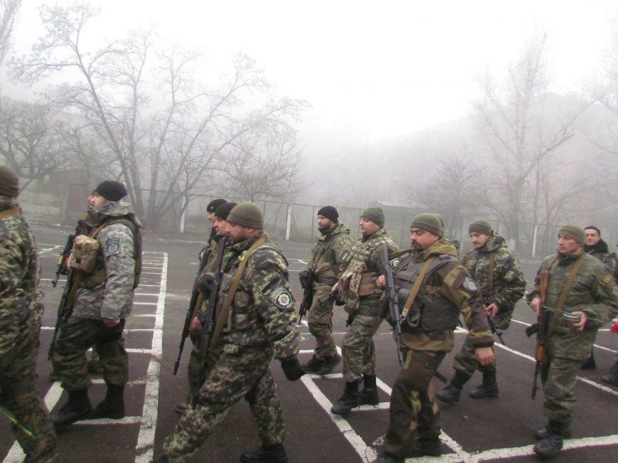 В Мариуполе попрощались с ивано-франковскими и львовскими милиционерами (ФОТО), фото-17