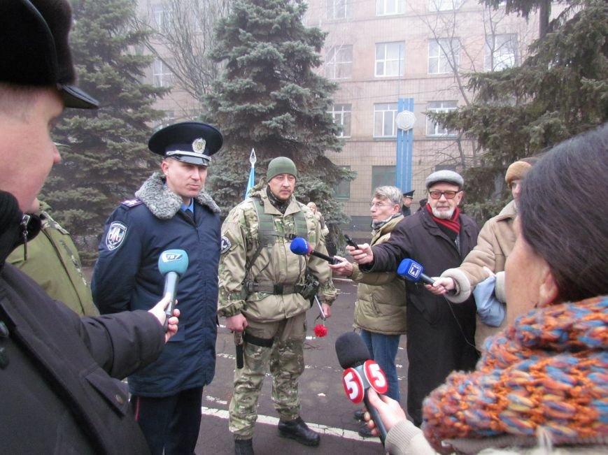 В Мариуполе попрощались с ивано-франковскими и львовскими милиционерами (ФОТО), фото-14