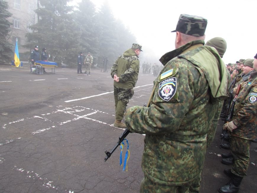 В Мариуполе попрощались с ивано-франковскими и львовскими милиционерами (ФОТО), фото-10