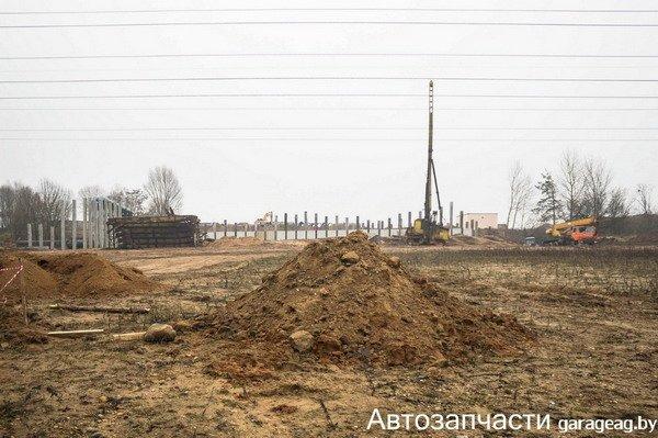 Фотофакт: в Гродно началось строительство нового моста, фото-1