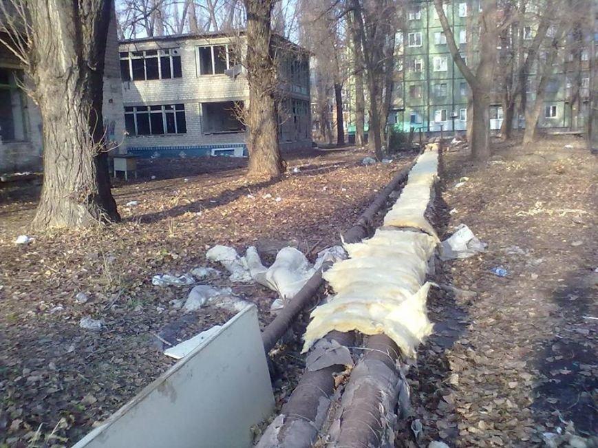 Кривой Рог приступил к реализации Европейской хартии энергоэффективности: голые трубы жильцы обвязали старыми пальто и кофтами (ФОТОФАКТ), фото-9