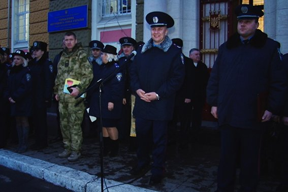 В Мариуполь отправится 95 прикарпатских милиционеров (ФОТО) (фото) - фото 1