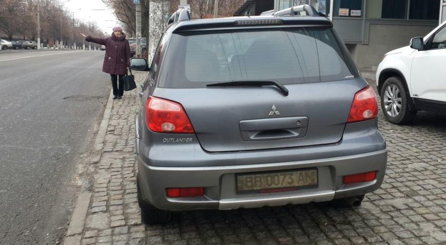 Водители Днепропетровска стали забывать о правилах не только дорожного движения, но и парковки (фото) - фото 1