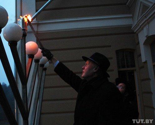 В гродненской синагоге отметили Хануку (Фото), фото-3