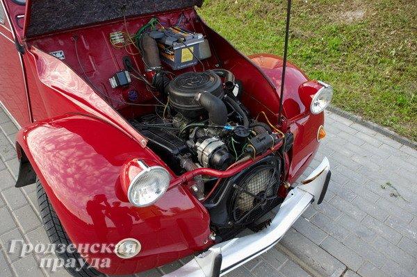 Гродненец приобрел ретро-автомобиль «Ситроен» 2CV для своей коллекции (Фото), фото-2