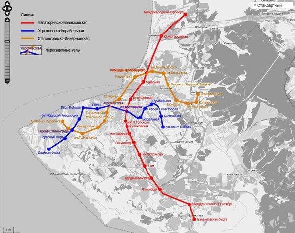 Крымчане мечтают о метро и уже создали его карту (ФОТО, ВИДЕО) (фото) - фото 2