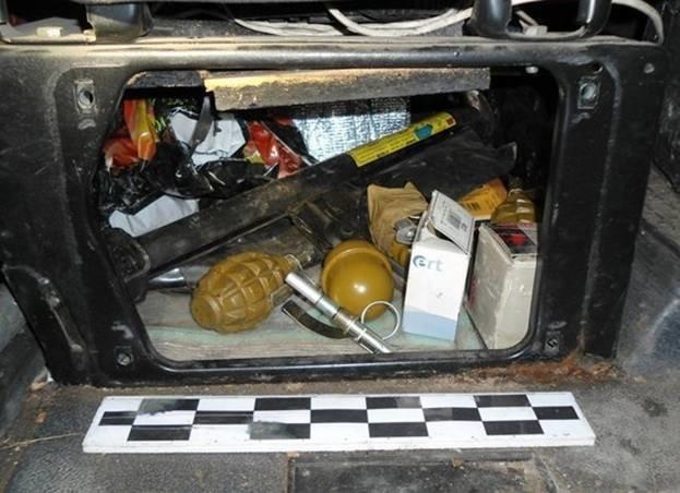 В Запорожской области задержали микроавтобус с партией гранатометов и ручных гранат (ФОТО) (фото) - фото 1