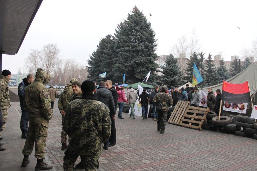 Спецбатальон «Кривбасс» попросил активистов покинуть здание горисполкома (ФОТО), фото-3