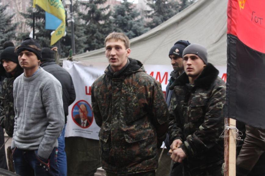Спецбатальон «Кривбасс» попросил активистов покинуть здание горисполкома (ФОТО), фото-6