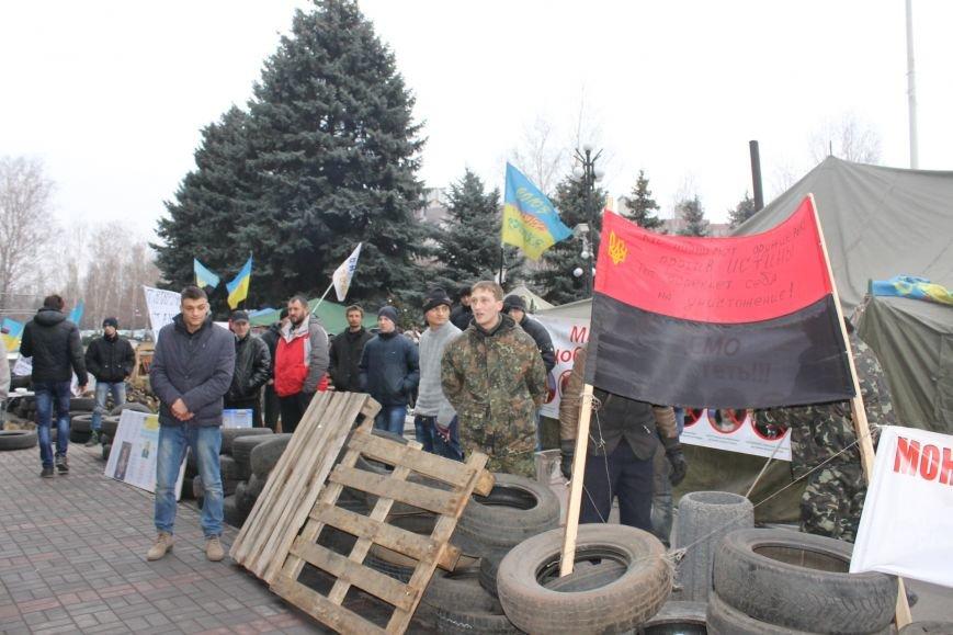 Спецбатальон «Кривбасс» попросил активистов покинуть здание горисполкома (ФОТО), фото-7