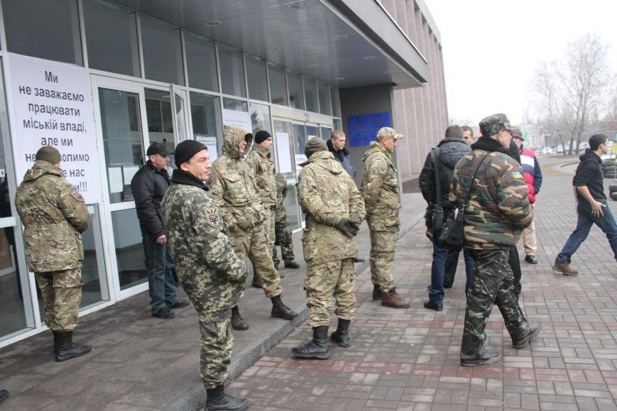 Спецбатальон «Кривбасс» попросил активистов покинуть здание горисполкома (ФОТО), фото-2
