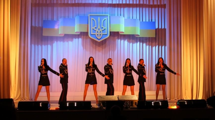 В Артемовске для военных и милиционеров выступил ансамбль МВД из Николаева, фото-2