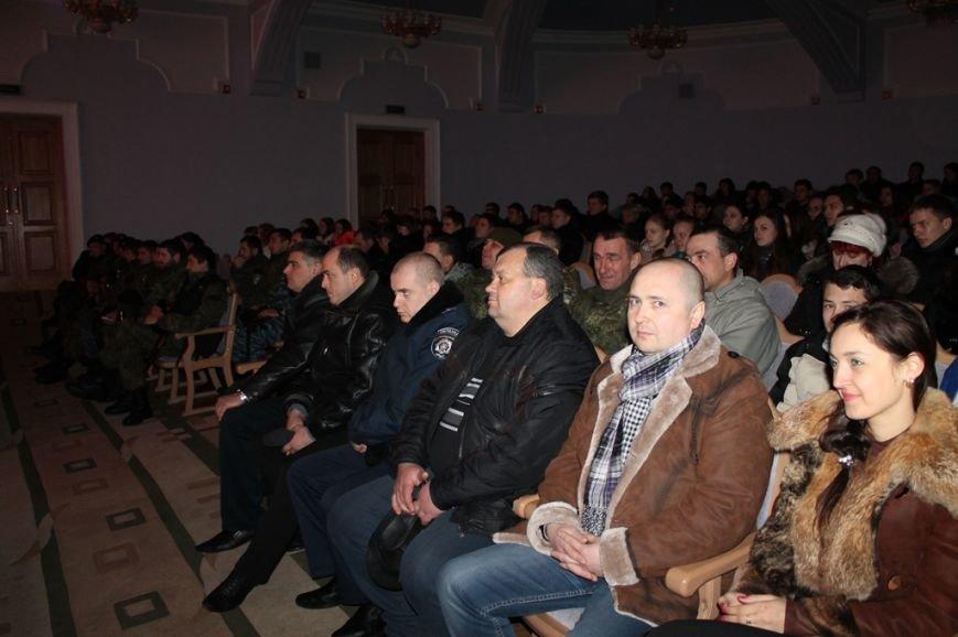 В Артемовске для военных и милиционеров выступил ансамбль МВД из Николаева, фото-3