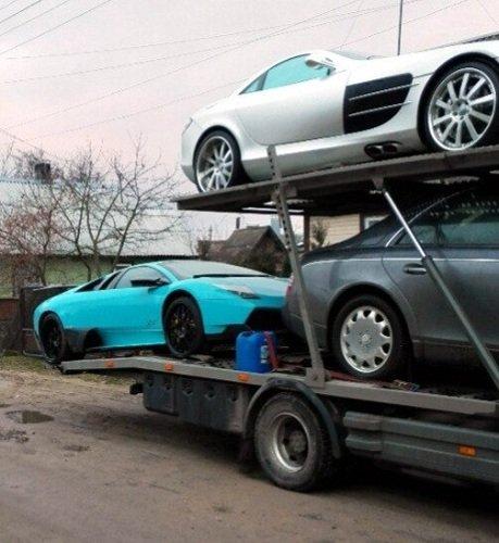 Фотофакт: в Гродно привезли 4 эксклюзивных автомобиля стоимостью около 1 млн. долларов (фото) - фото 4