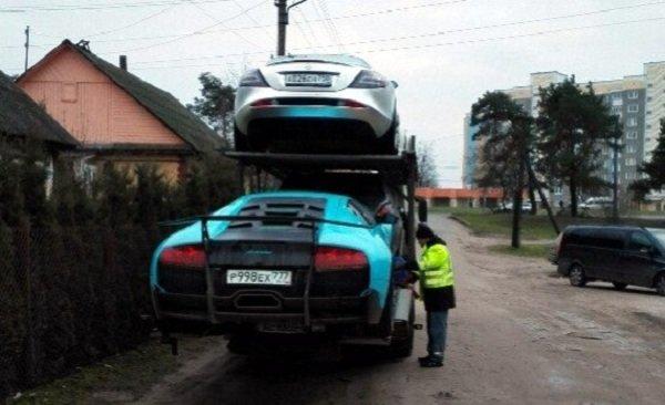 Фотофакт: в Гродно привезли 4 эксклюзивных автомобиля стоимостью около 1 млн. долларов, фото-3
