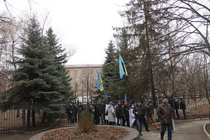 В Кривом Роге протестующие срезали болгаркой забор у офиса «Метинвеста» и под крики «Ганьба!» вошли в кабинет директора (ДОБАВЛЕНЫ ФОТО), фото-8